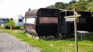 TAKE Off Fallschirmsport Center - Campingplatz mit Wohnwagen