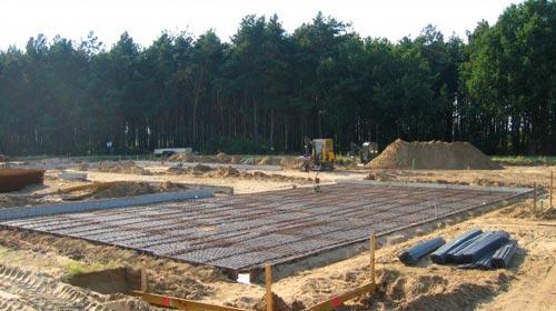 TAKE OFF Falllschirmsport - Foto aus den Anfängen - Baustelle
