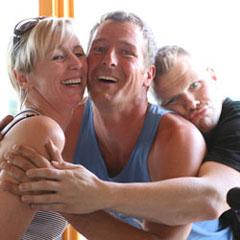 TAKE OFF Berlin - Team - Maggie & Lutz zusammen