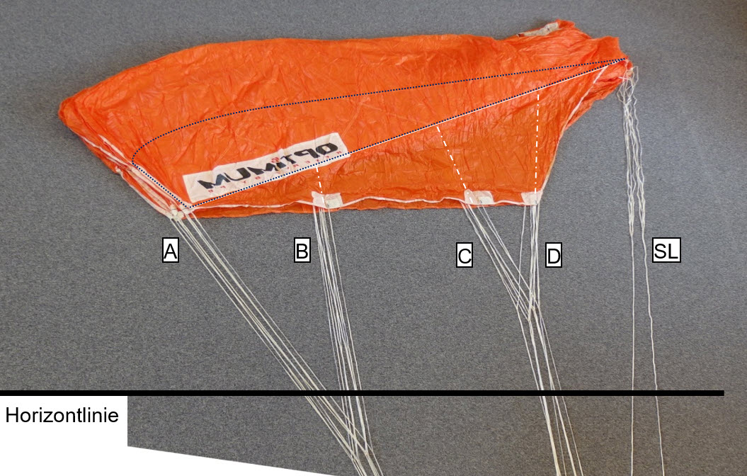 45-Fallschirm